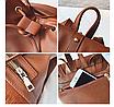 Рюкзак женский кожзам с бахромой Cowboys Backpacks Светло коричневый, фото 6