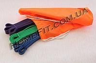 Резиновые петли (комплект 3 шт) нагрузка от 2 кг - 45 кг
