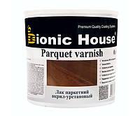 Лак паркетный, акрил-уретановый на водной основе, профессиональный (Bionic House Parquet varnish Joncryl) 10 л