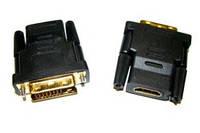 Переходник HDMI AF - DVI M (24+1) ОЕМ