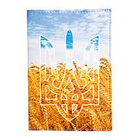 "Обложка на паспорт ""Герб пшеница"""
