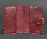 """Обложка для паспорта из кожи 4.0 """"Виноград"""", фото 3"""