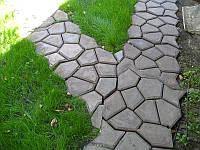 Форма для изготовления садовых дорожек Садовая дорожка