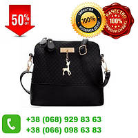 Женская стильная сумка Bembi черная