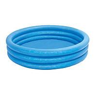 Детский надувной бассейн Intex 58426 «Синий кристалл», фото 1