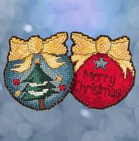 Набор для вышивки крестиком и бисером Merry Christmas Tree Mill Hill