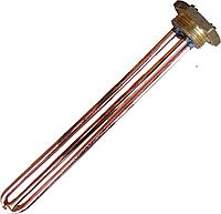 ТЭН прямой для бойлера Ariston, Thermex 1,5 кВт ( 1500 Вт ) резьба 1 1/4 с местом под анод Украина, фото 1