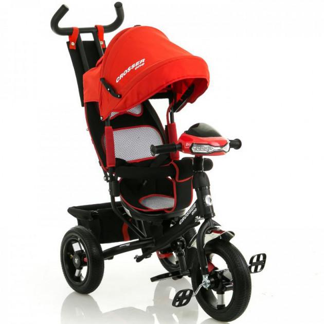 Велосипед трехколесный Azimut Crosser T-1 Air Red Гарантия качества Быстрая доставка