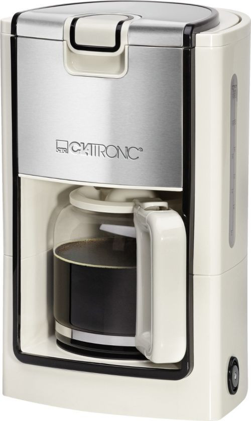 Кофеварка CLATRONIC KA 3558 бежевая