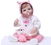 """Кукла малышка реборн """"Маленькая лисичка"""" полностью из винил-силикона /Кукла,пупс reborn, фото 1"""