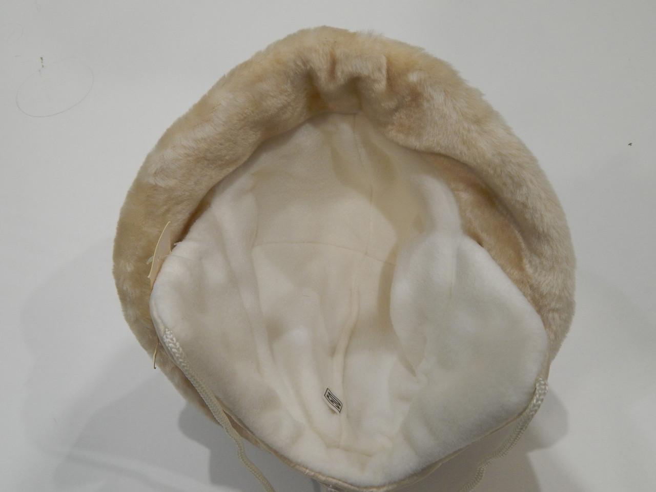 Шапка-ушанка зимняя теплая для девочки