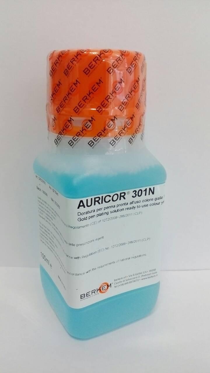 Раствор для золочения карандаш Auricor 301N,14/1N, BERKEM 100ml