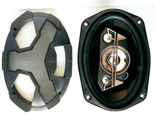 Автомобильные Динамики - Колонки 1200W Овалы Пара (ВидеоОбзор), фото 3
