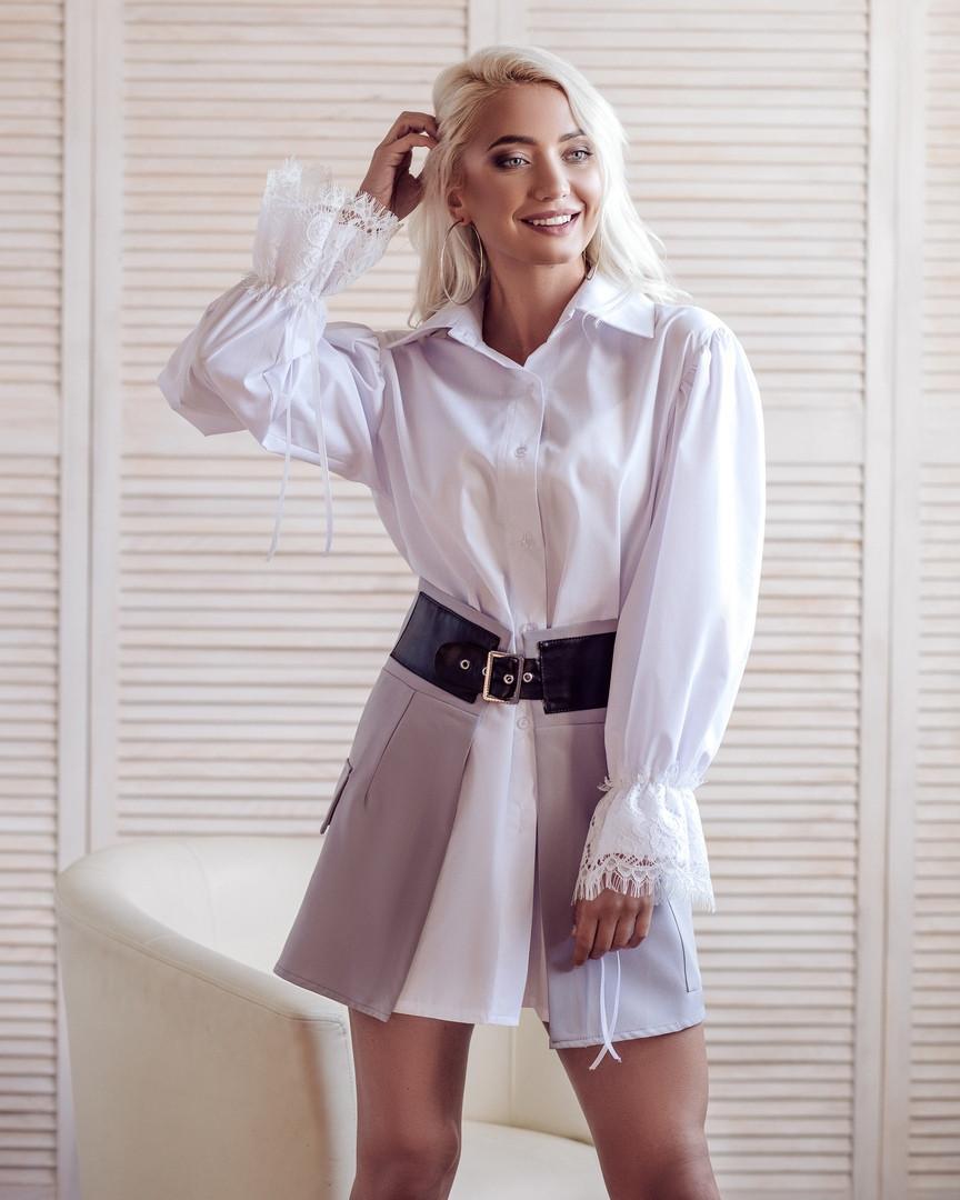 """Костюм (рубашка+юбка) """"Регина"""""""