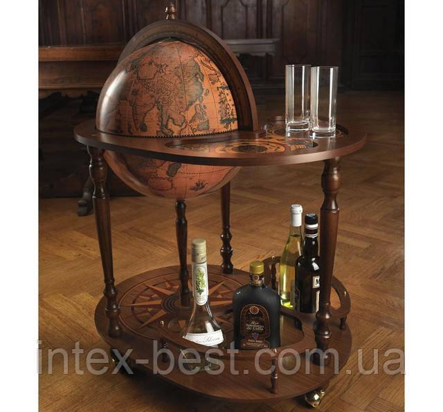 Напольный глобус 42004 со встроенным столиком