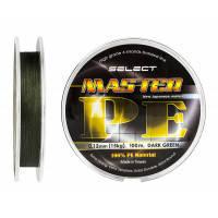 Шнур Select Master PE 150m 0.08мм 11кг темн.-зел.