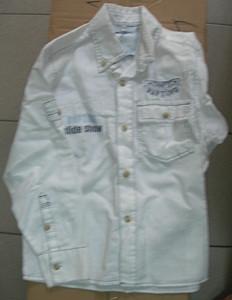 Рубашка д/м белая дл. рукав р.5-6лет