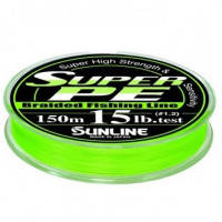 Шнур Sunline Super PE 150м (салат.) 0.128мм 6LB/2.7кг