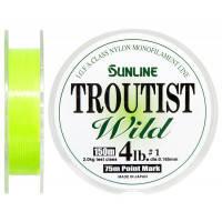 Леска Sunline Troutist Wild 150м #1,0/0,165мм 2кг