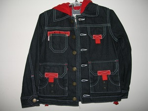 Куртка джинс д/малч TANGO р.122,128