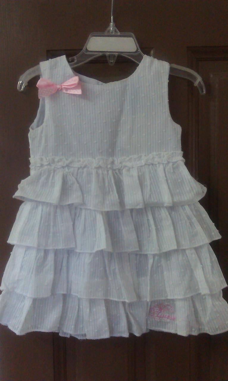 Платье Guess белое р.3года