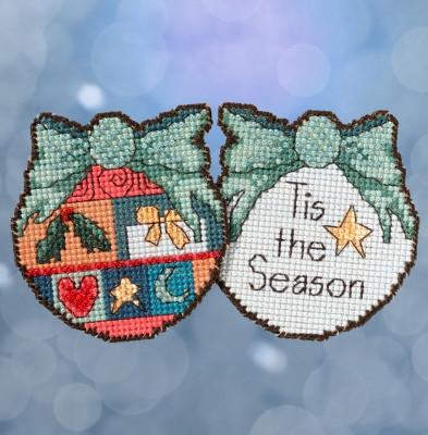 Набор для вышивки крестиком и бисером Tis the Season Mill Hill