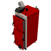 ALTEP Duo Uni Plus 33кВт стальной  твердотопливный котел длительного горения