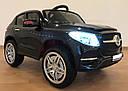 Детский электромобиль Джип Mersedec ML Кожаное сиденье, EVA Резина Автопокраска красный, дитячий електромобіль, фото 8
