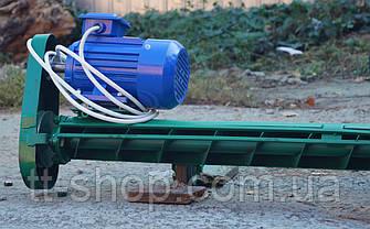 Подборщик шнековый под трубу 108 мм, ширина 2 м, фото 3