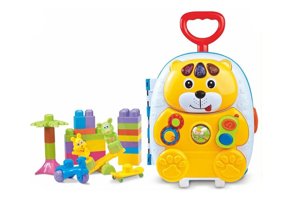 CANHUI Чемодан игрушечный с конструктором