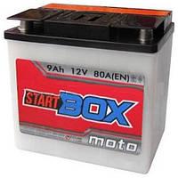 Аккумуляторы мото StartBOX 6МТС-9С: 9 А·ч - 12 V; 80 (5237994731), 148x86x107 мм