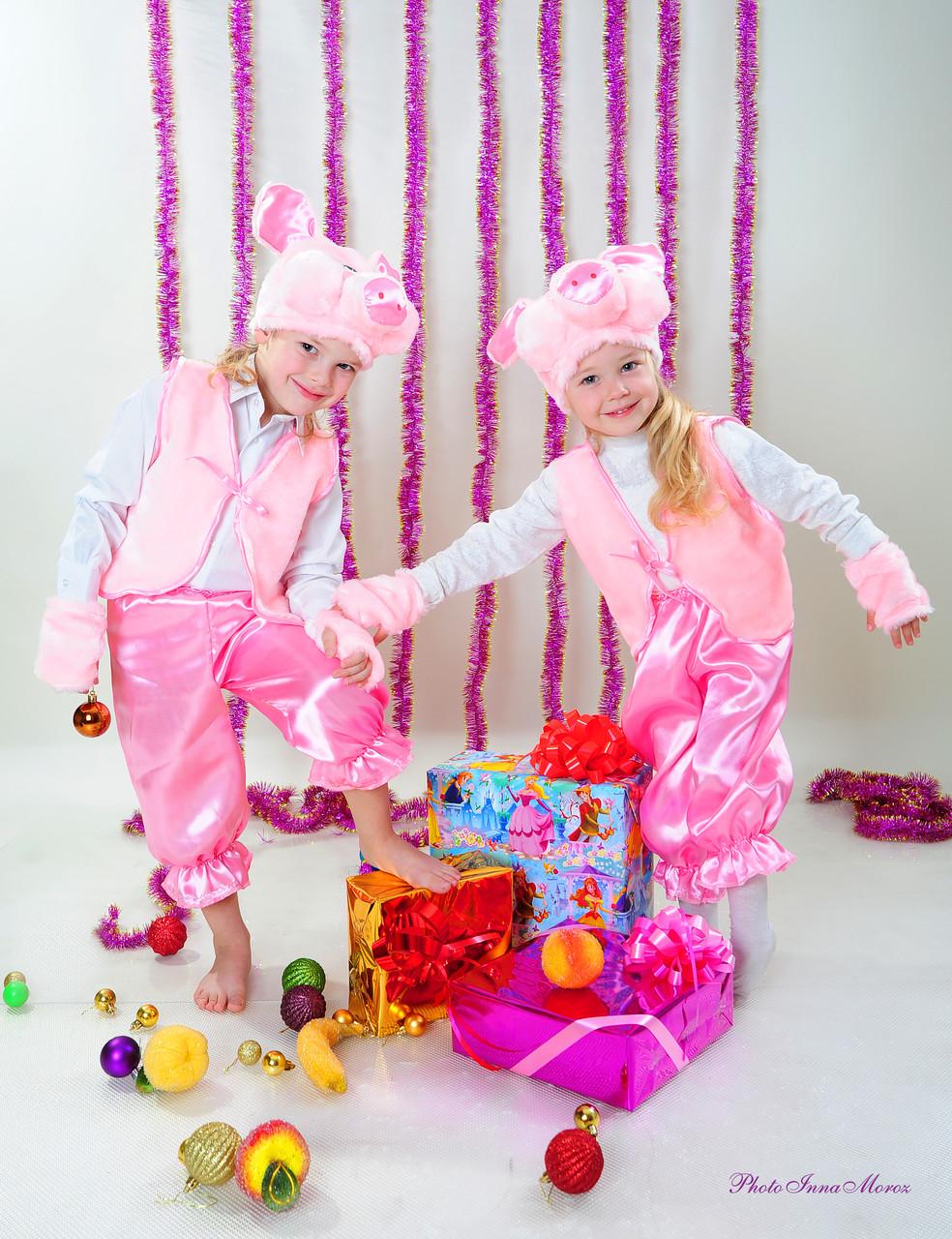 Детский новогодний костюм хрюши