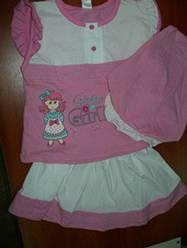 Комплект Фламинго для девочки р92-56,98-60