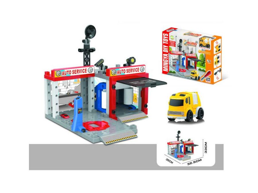 Парковка-конструктор станция технического обслуживания