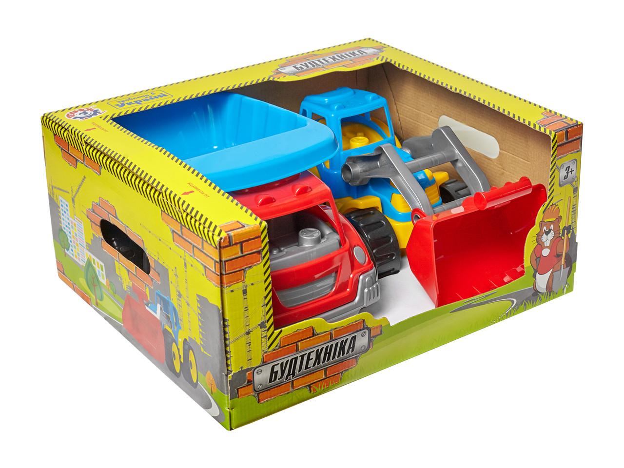 *Транспортна іграшка Будтехніка Технок* 3459