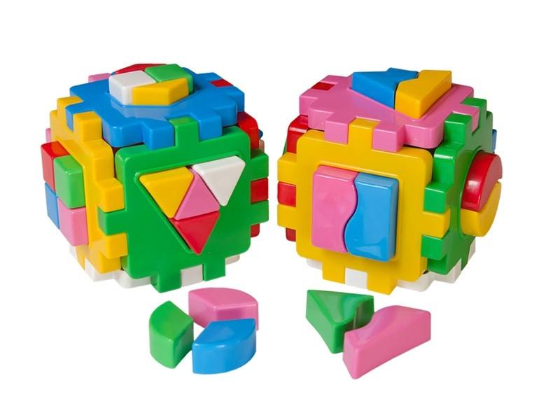 """Куб """"Розумний малюк Логіка-комбі"""""""