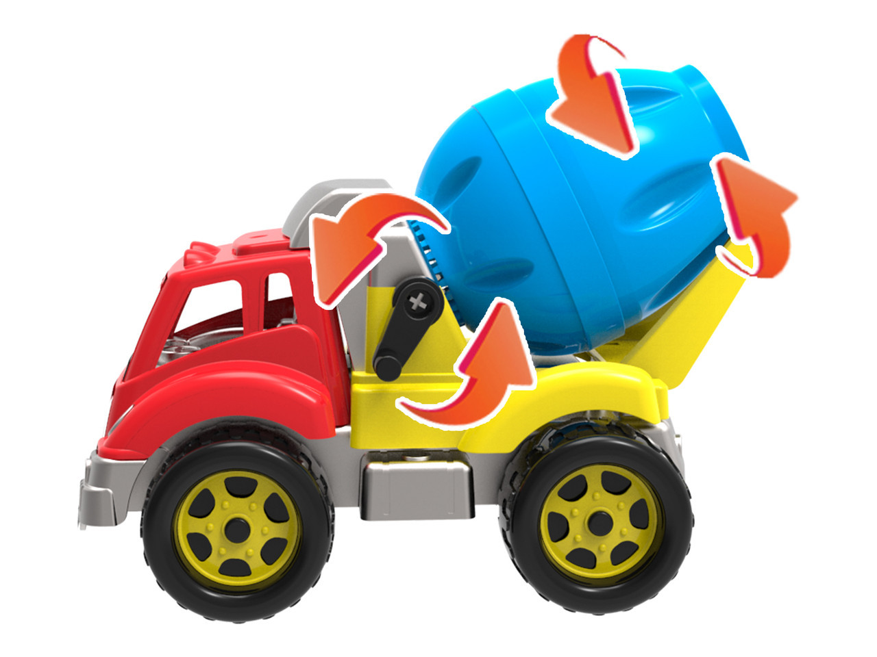 *Транспортна іграшка Автоміксер Технок