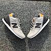 """Зимние кроссовки на меху New Balance 574 """"Серыe"""", фото 4"""