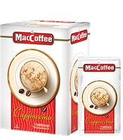 Растворимый кофе MacCoffee Капучино Традиционный