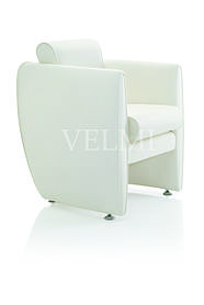 Кресло для ожидания VM306 экокожа Boom-01 (Velmi TM)
