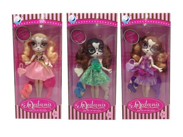Кукла 23 см 3 шт в ассортименте