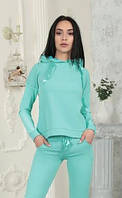 Теплый женский спорт костюм батал 002D/01, фото 1