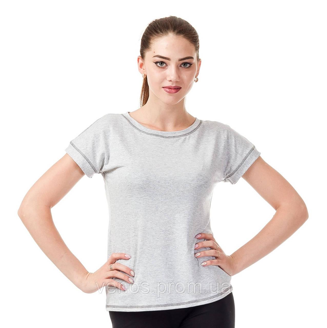 Базовая трикотажная футболка. К081