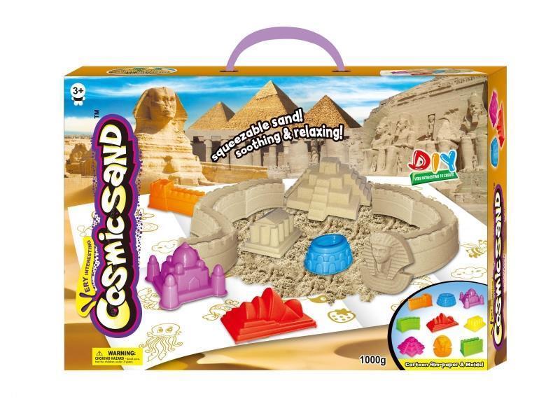 Набор-кинетический песок с формочками, 1000 грамм