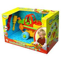 Детская игрушка-конструктор Подъемный кран BeBeLino