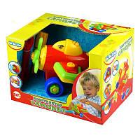 Детская игрушка-конструктор Самолет BeBeLino