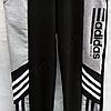 Спортивные штаны детские Adidas для мальчиков (8-12 лет) трикотажные tim 2030 Черные, фото 4