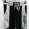 Спортивные штаны детские Adidas для мальчиков (8-12 лет) трикотажные tim 2030 Черные, фото 2