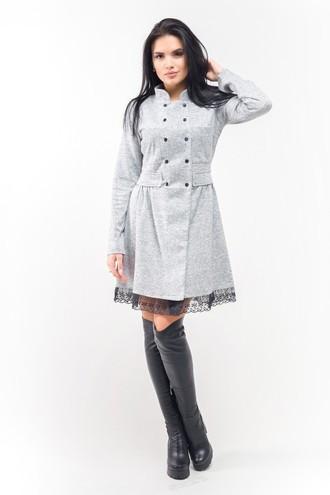Эксклюзивное тёплое и демисезонное платье Селеста ЛПС 1584