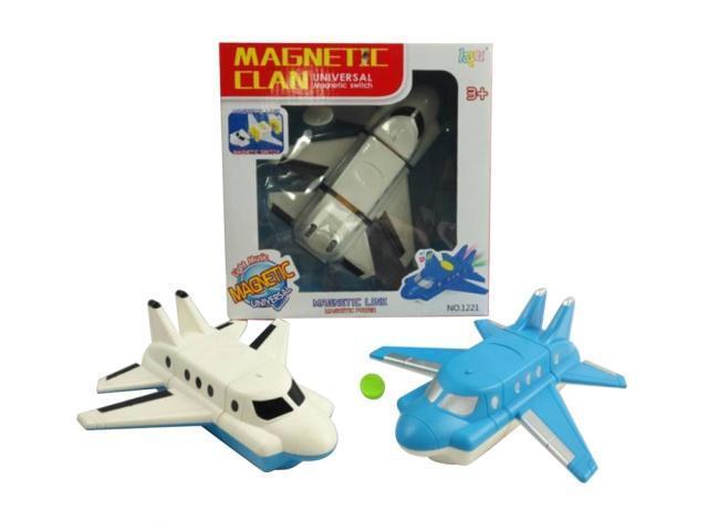 Конструктор Самолет на на магнитах, работает от батарей